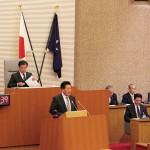 森脇ひろし市議会風景